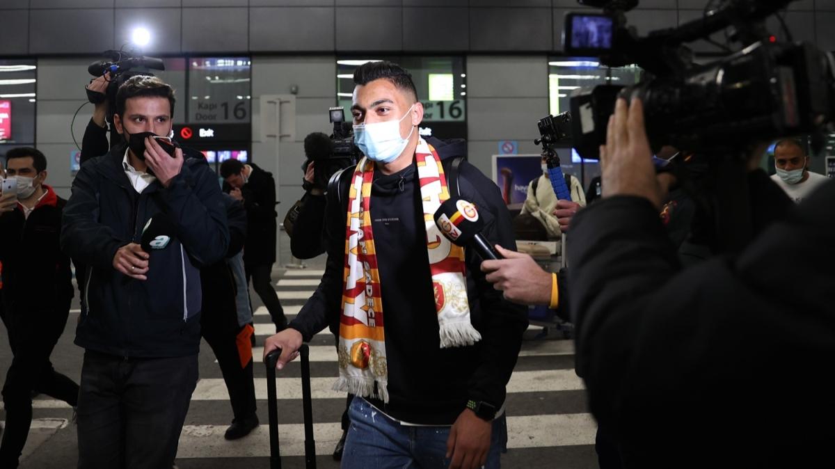 Galatasaray, Mostafa Mohamed'e kavuştu