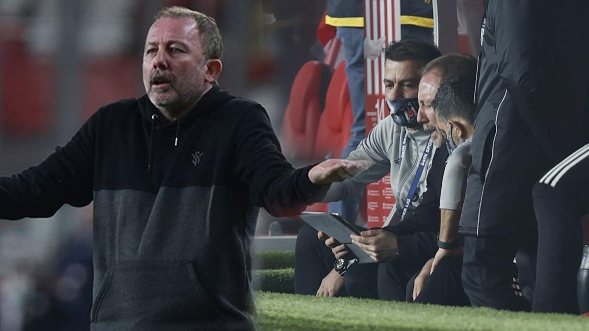 Sergen Yalçın maç sonu çıldırdı! 'Çok sinirliyim! Öldü zannedersin...'