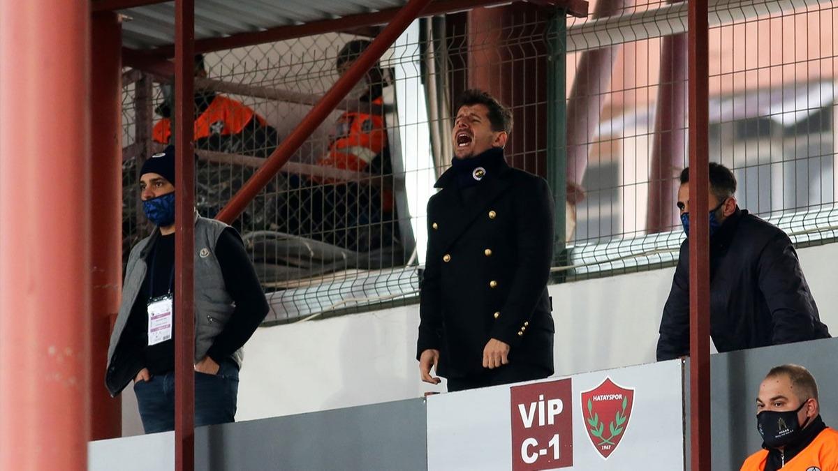 Fenerbahçe - Hatayspor maçında Emre Belözoğlu'nu çıldırttılar!