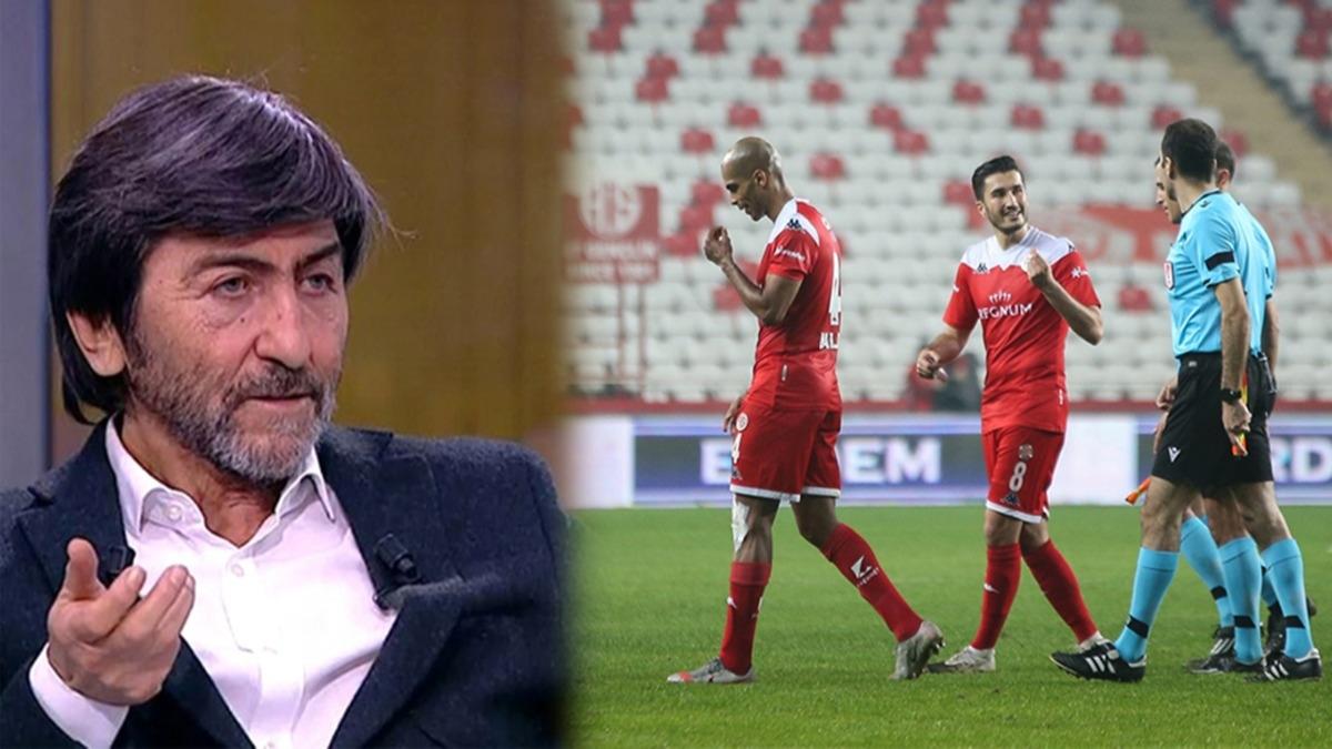 Rıdvan Dilmen: 'Durup dururken oyuncu atıyorsun'