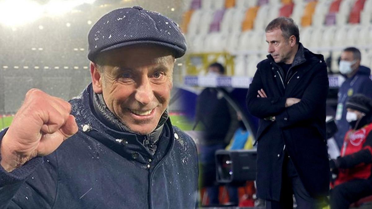 Trabzonspor'da Abdullah Avcı rekor kırdı! Maç sonu 'kasket' mesajı...
