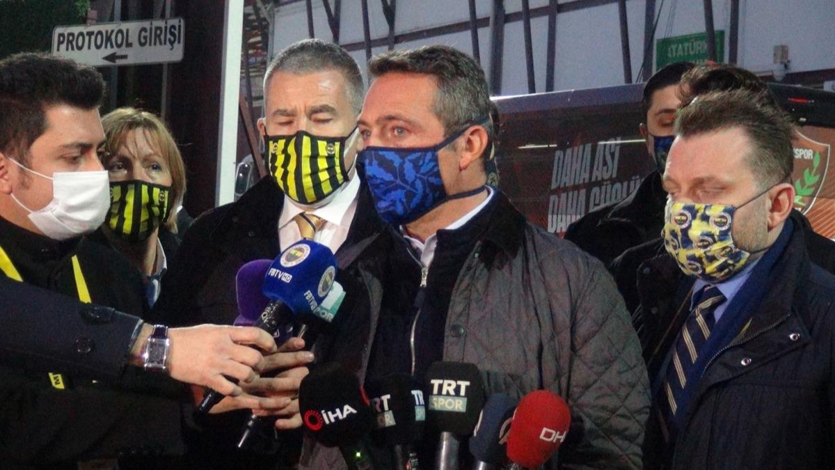 'Yalan ve iftiralar...' Ali Koç'tan Mustafa Cengiz ve Arda Turan sözleri