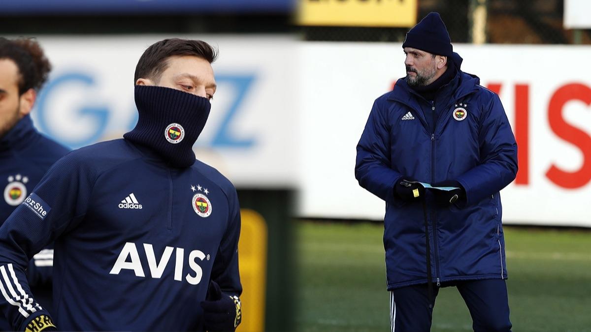 Erol Bulut kararını verdi! Mesut Özil ve sürpriz forvet