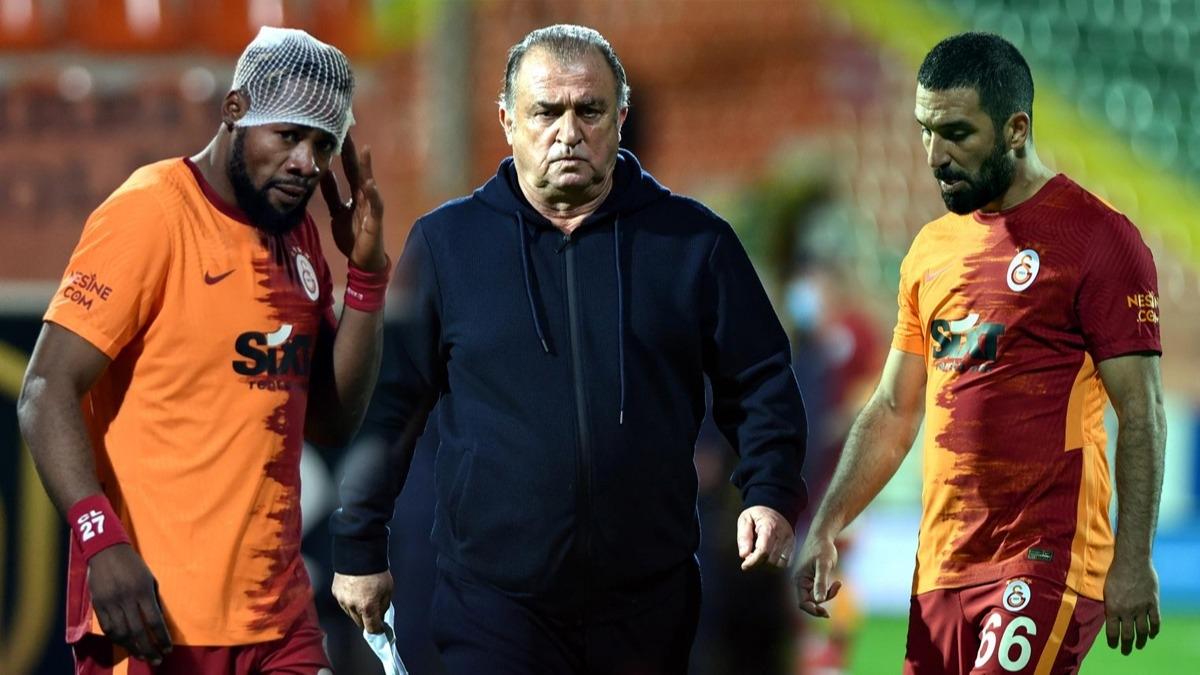 Alanyaspor Galatasaray maçında Fatih Terim çok sinirlendi! Luyindama kararı Fenerbahçe derbisi...