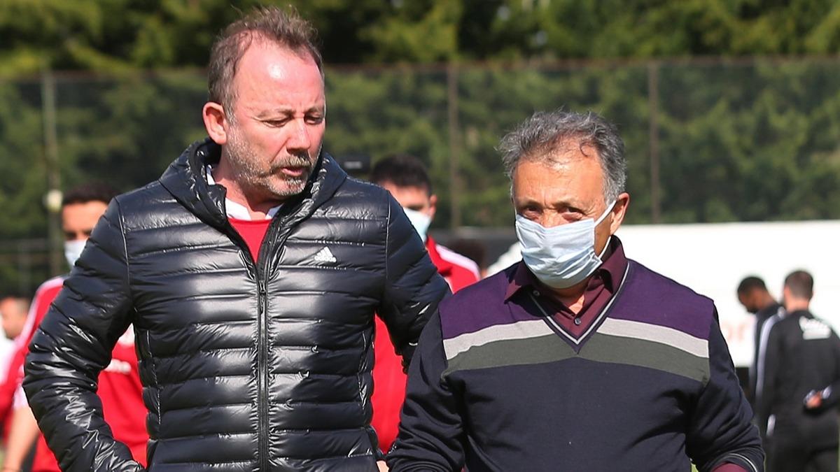 Beşiktaş'ta 6 futbolcu için son söz Sergen Yalçın'da