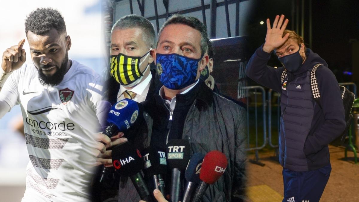 Fenerbahçe Başkanı Ali Koç Trabzonspor maçı sonrası açıkladı! Caner Erkin ve Boupendza...