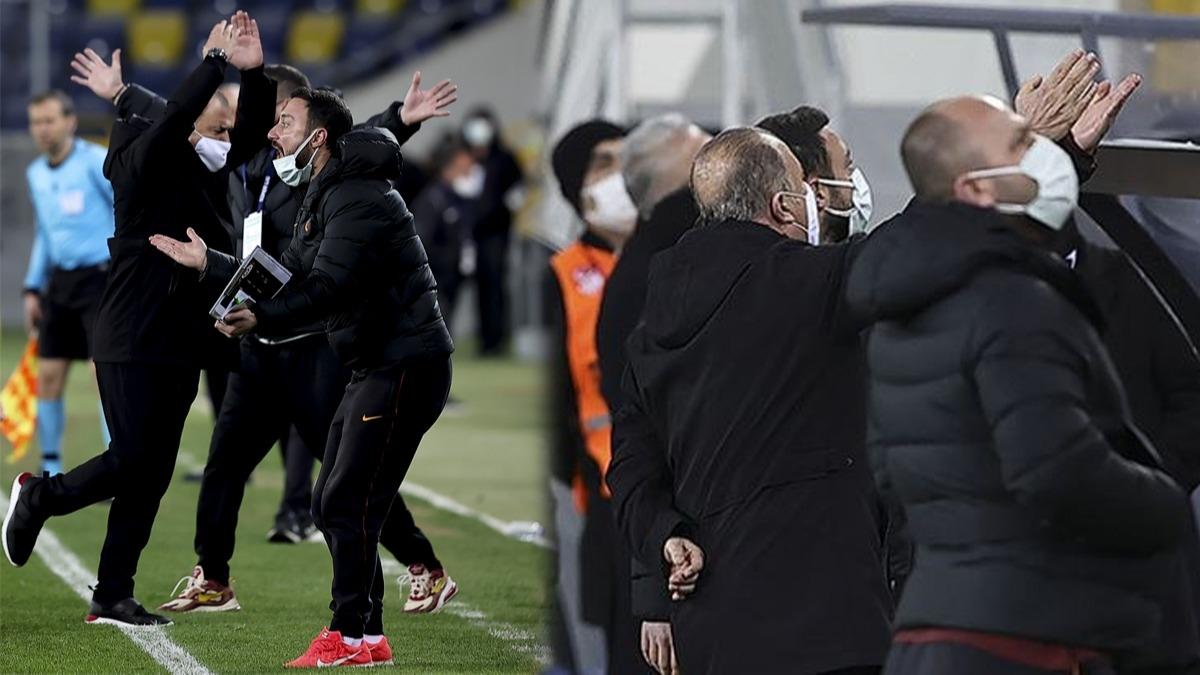 Galatasaray'da Fatih Terim kulübeden fırladı! Ankaragücü maçında düdük sonrası çılgına döndü...
