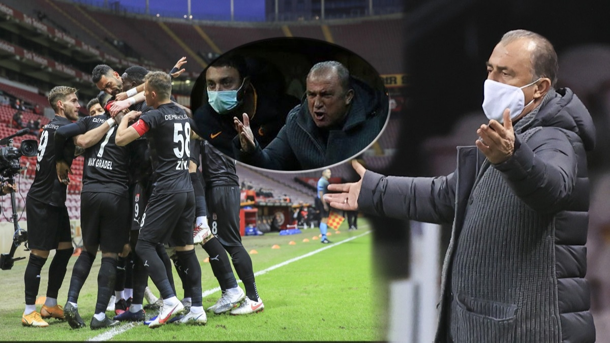 Galatasaray'da yıldız oyuncu Fatih Terim'i çıldırttı, Terim yere düştü! Sivasspor tarihinde bir ilk
