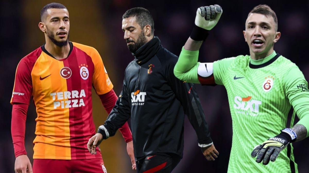 Galatasaray'da Belhanda kararı sonrası Arda Turan ve Muslera'dan tepki! Fatih Terim 'Özür dile' dedi ama...