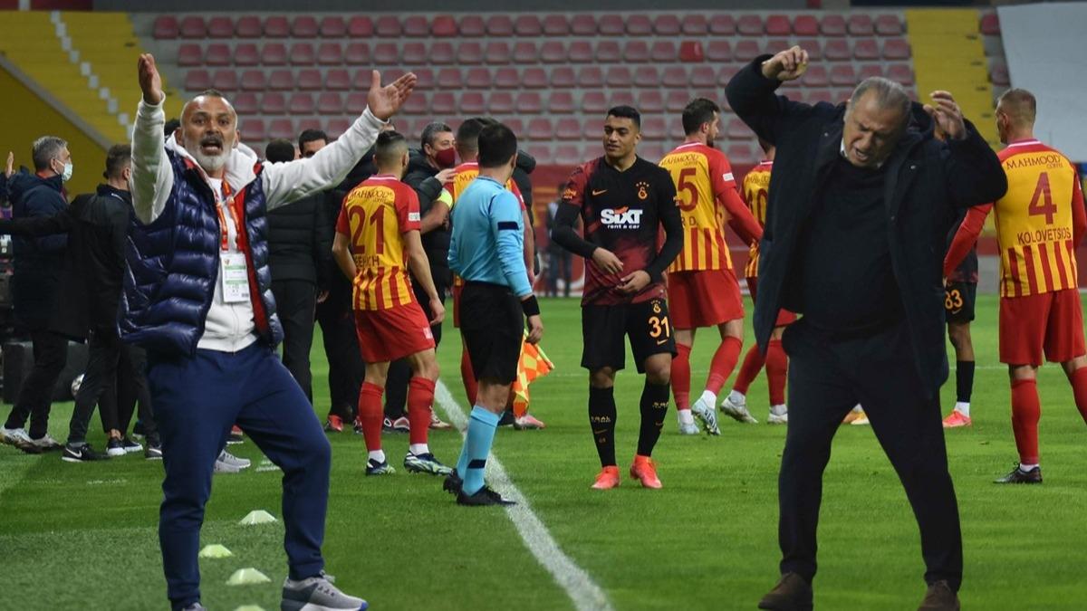 Kayserispor-Galatasaray maçında gerginlik! Fatih Terim'in sözleri canlı yayında duyuldu: Halis Özkahya'ya tepki...