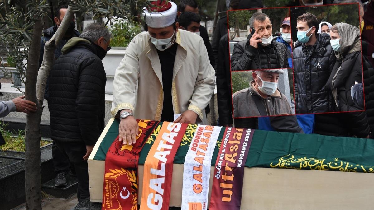 Galatasaray'ın efsane ismi Erhan Önal son yolculuğuna uğurlandı