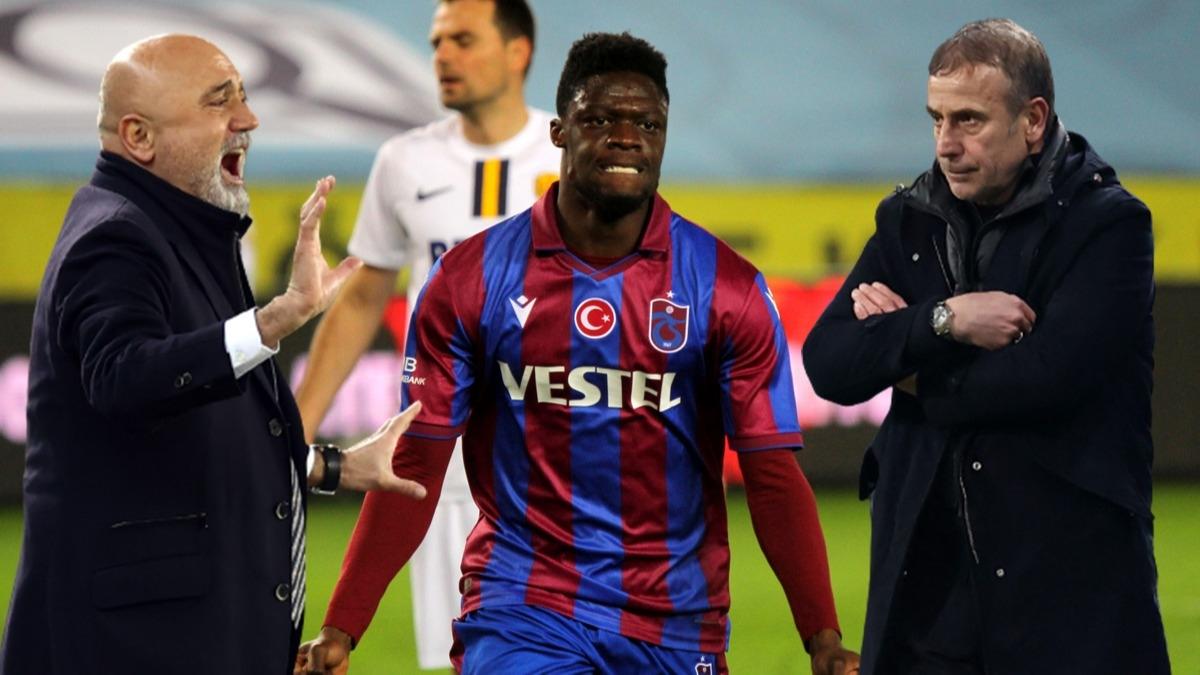 Trabzonspor-Ankaragücü maçında Hikmet Karaman olay oldu! Rekorları alt üst eden maçta Abdullah Avcı'dan bir ilk