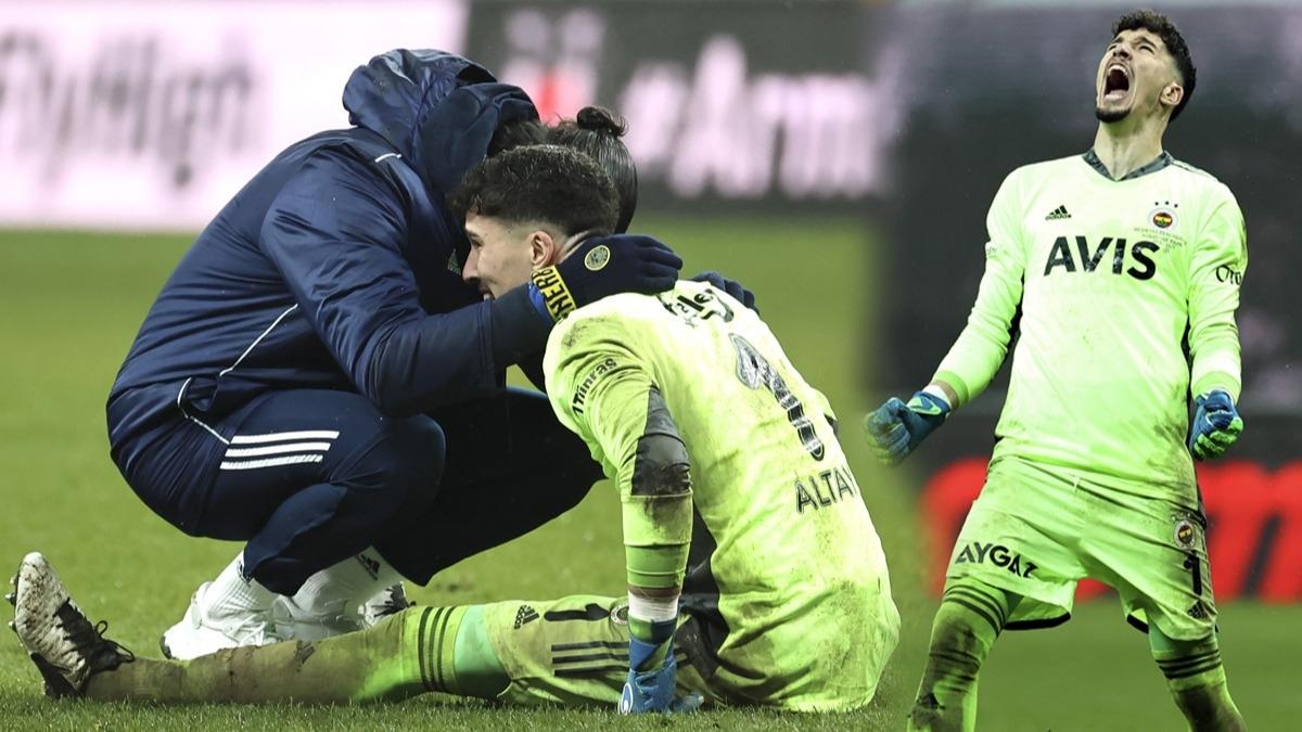 Direkleri tekmeledi! Beşiktaş-Fenerbahçe derbisinde Altay Bayındır'ı Volkan Demirel sakinleştirdi