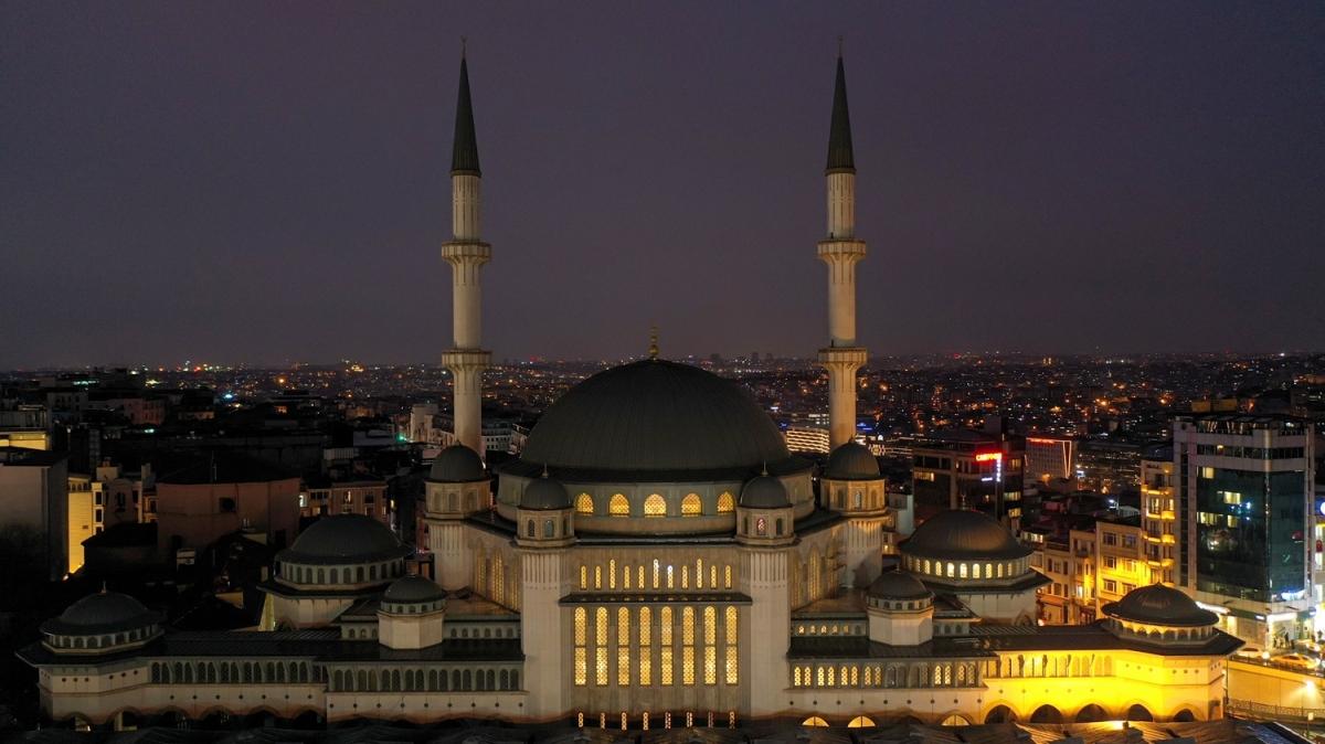 Taksim Camii Ramazan'da ibadete açılacak
