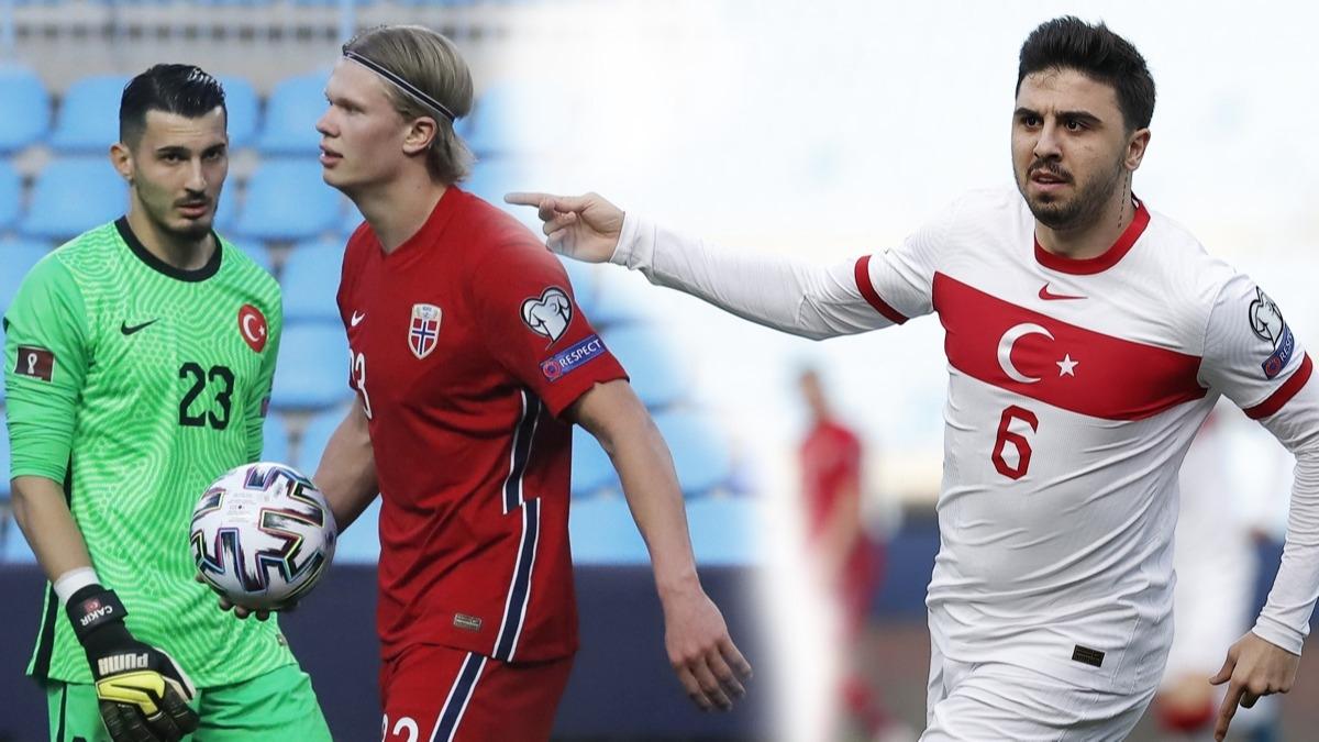 'Haaland'dan korkan kim?' Norveç-Türkiye maçında bir ilk! Ozan Tufan...