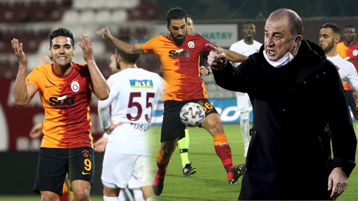 Fatih Terim'in o kararı olay oldu! Hatayspor-Galatasaray maçında Arda Turan'ın sözleri TV'den duyuldu