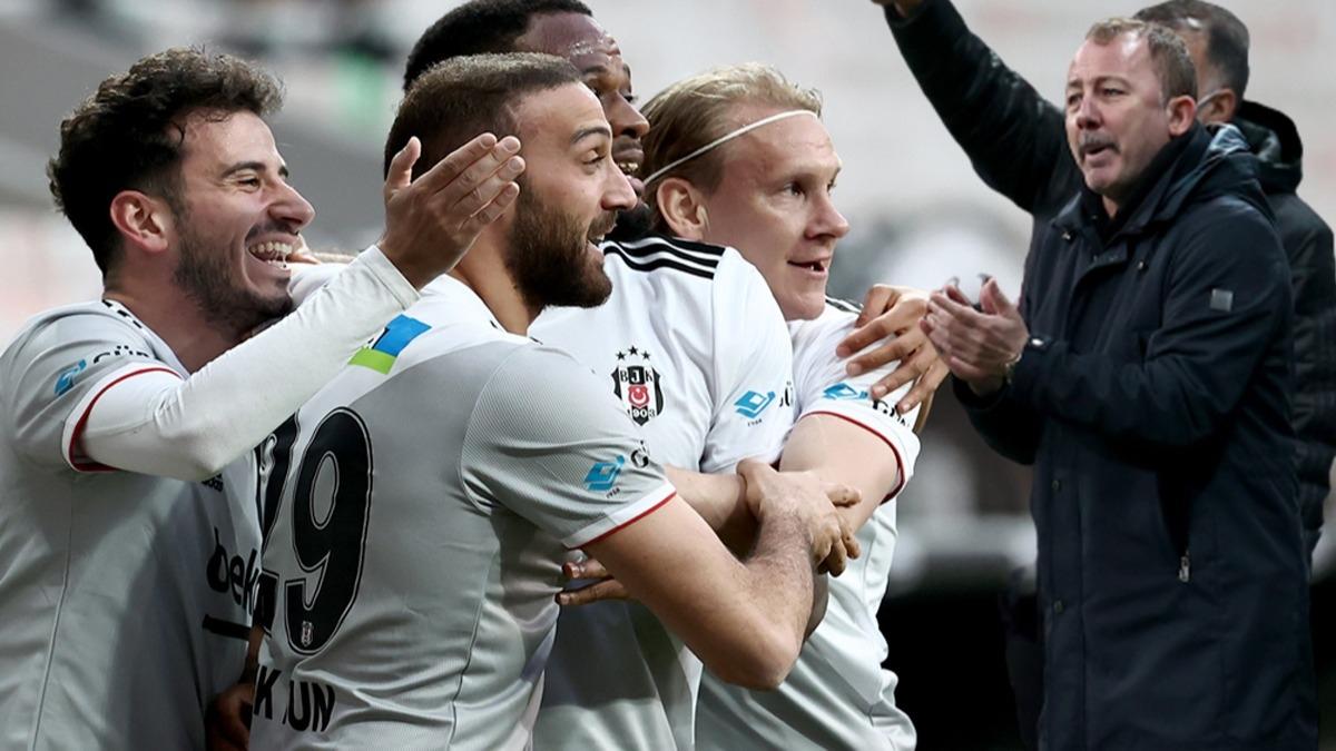 Beşiktaş'ta Cenk Tosun rekorla geri döndü! İlk sırada, inanılmaz istatistik