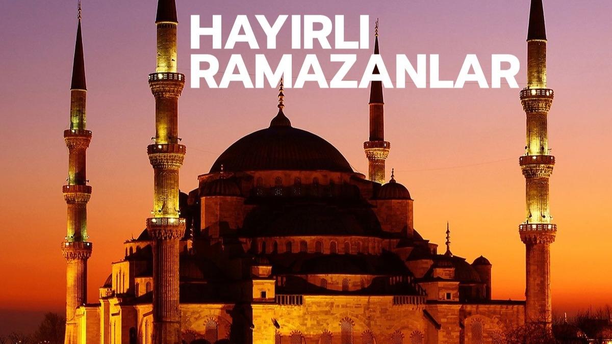 Resimli Ramazan mesajları 2021! En güzel ramazan ayı mesajları ve sözleri