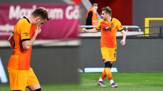 Galatasaray'da Kerem Aktürkoğlu tarihe geçerek bir ilke imza attı!