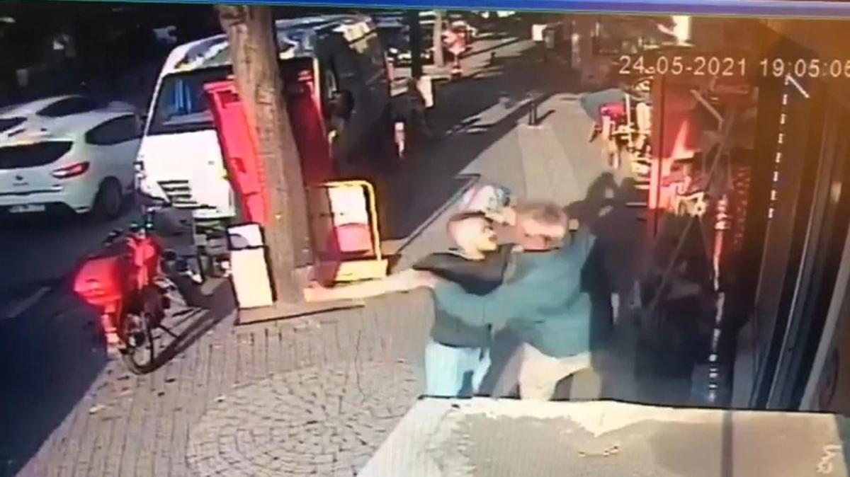 Saldırdığı arkadaşı piknik tüpüyle başına vurunca neye uğradığını şaşırdı