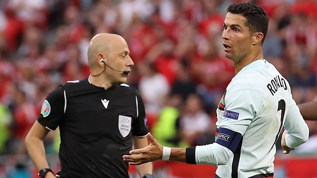 Cüneyt Çakır'dan Ronaldo'yu çıldırtan karar!