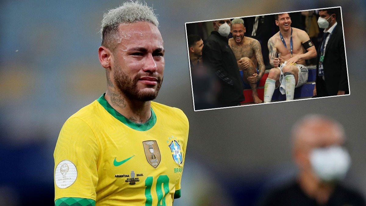 Herkesin konuştuğu görüntü! Neymar'dan önce gözyaşı sonra kahkaha