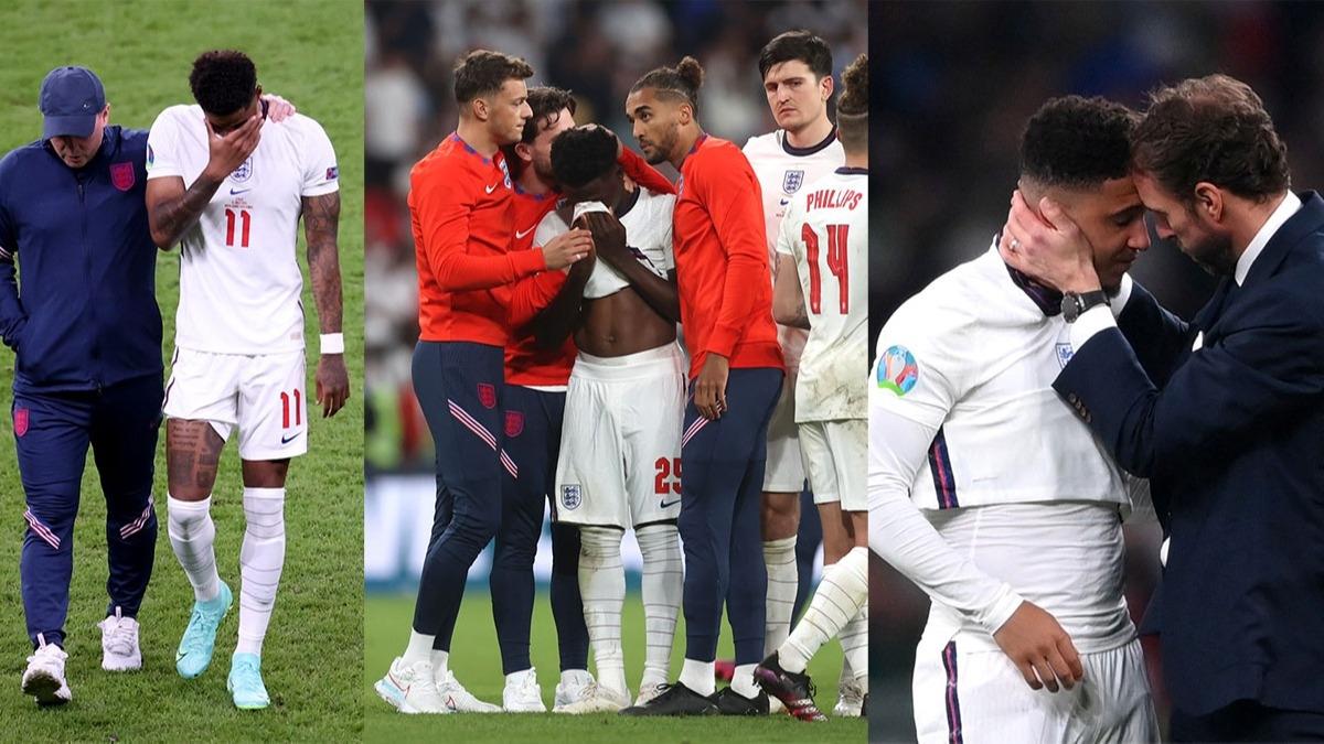 EURO 2020 finali sonrası Saka, Rashford ve Sancho'ya iğrenç saldırı