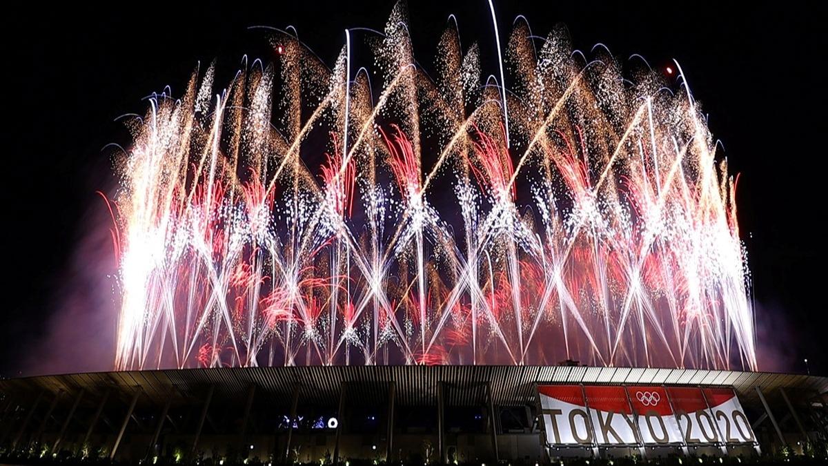 Tokyo 2020 muhteşem bir törenle açıldı