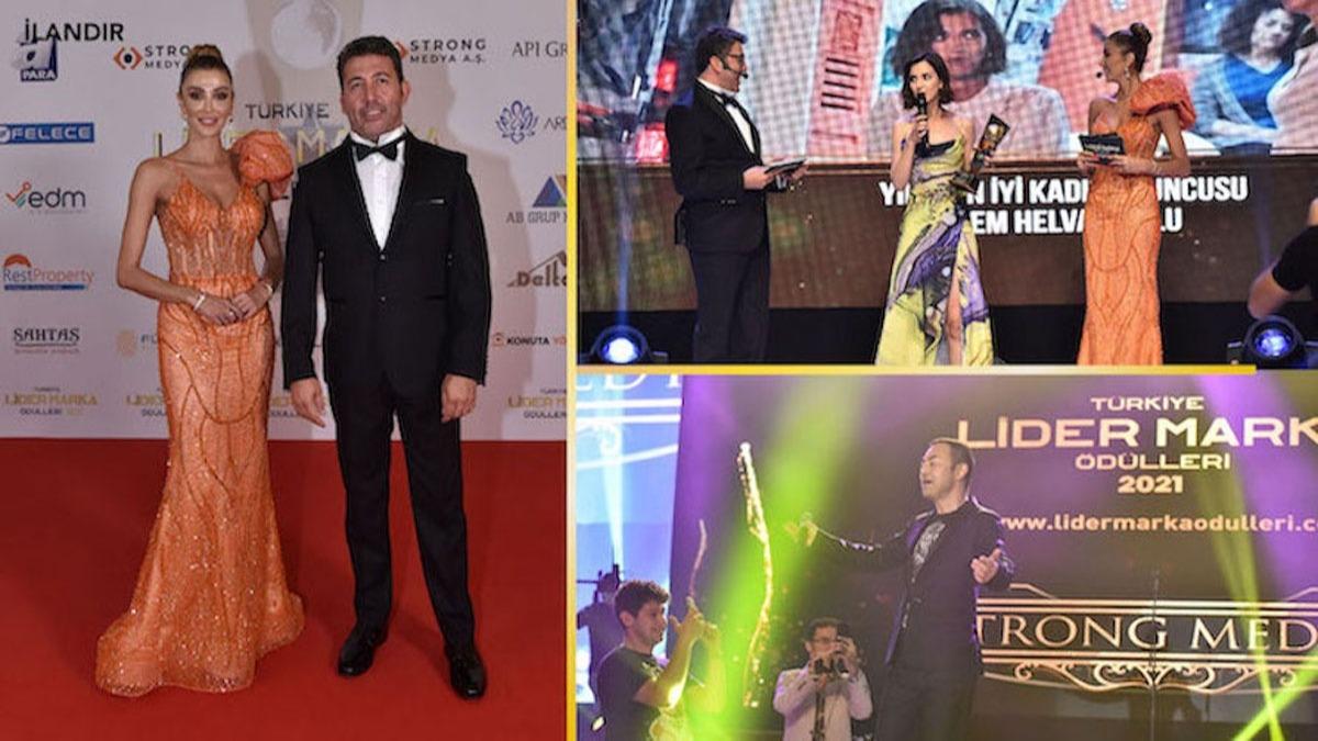 2. Türkiye Lider Marka Ödülleri Töreni muhteşem bir geceyle sahiplerini buldu