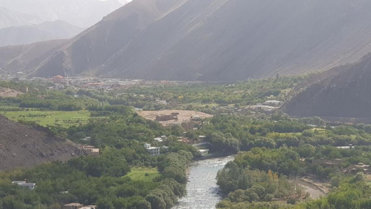 Taliban'ın giremediği kent! Böyle görüntülendi
