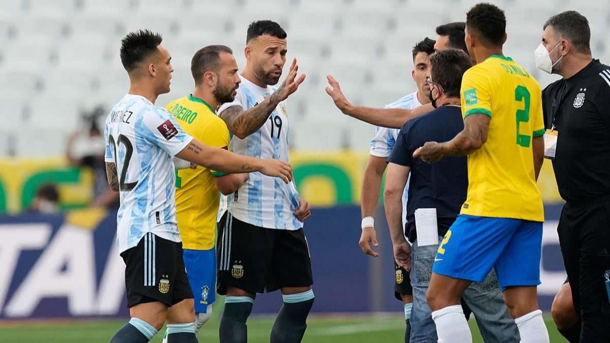 Ertelenen Brezilya-Arjantin maçı için sert sözler! 'Küresel utanç!'