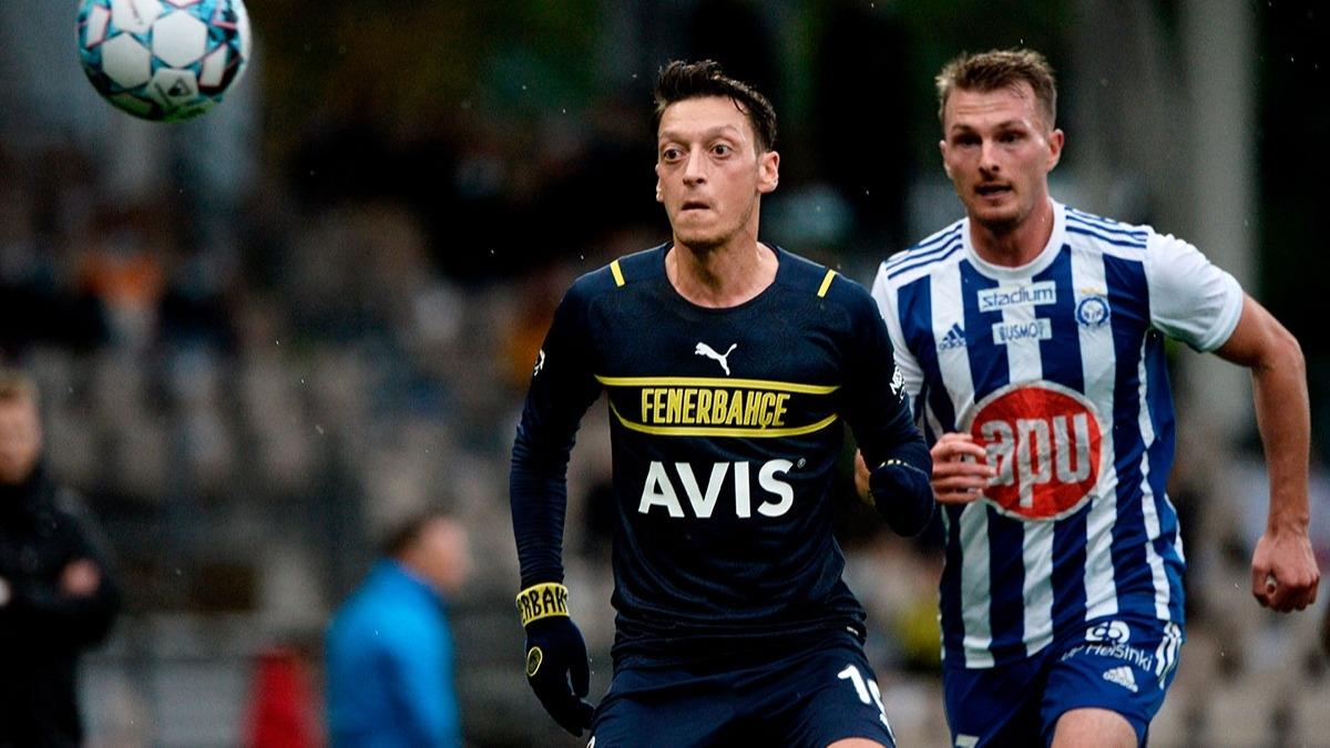 Mesut Özil Fenerbahçe'den ayrılıyor mu? Açıklama geldi