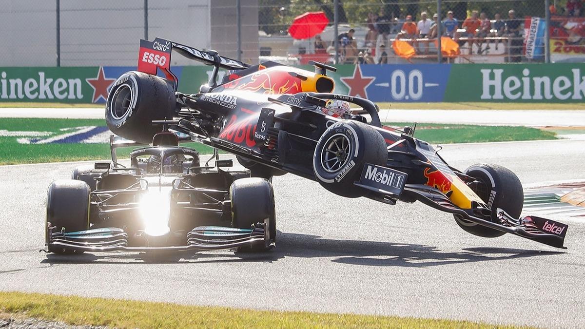 Formula 1'de tarihi kaza!