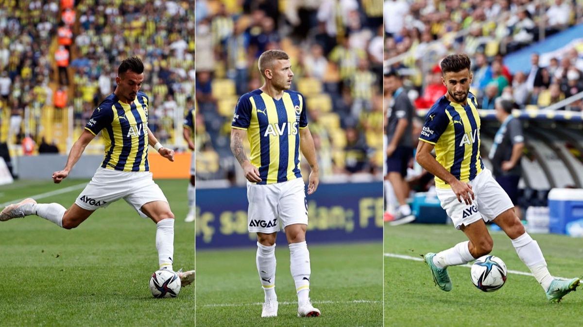 Fenerbahçe'nin yeni transferleri sınıfta kaldı!