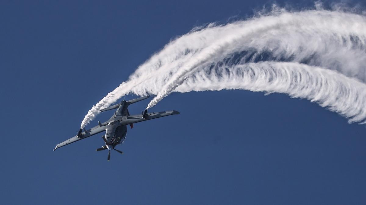TEKNOFEST'te dördüncü gün! 'Milli Kanatlar' havalandı