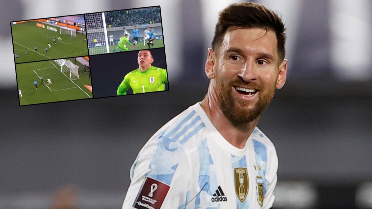 Messi'den Muslera'yı bitiren gol! Büyük hata yaptı