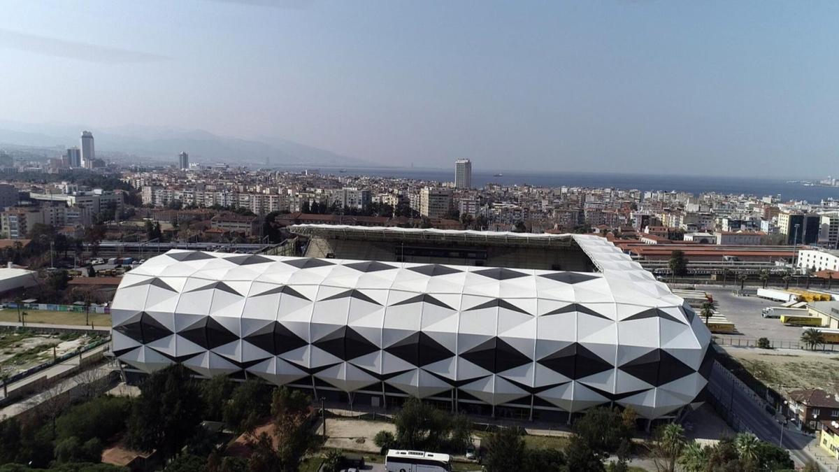 Açılışına günler kaldı! İşte yeni Alsancak Stadı'nın son hali