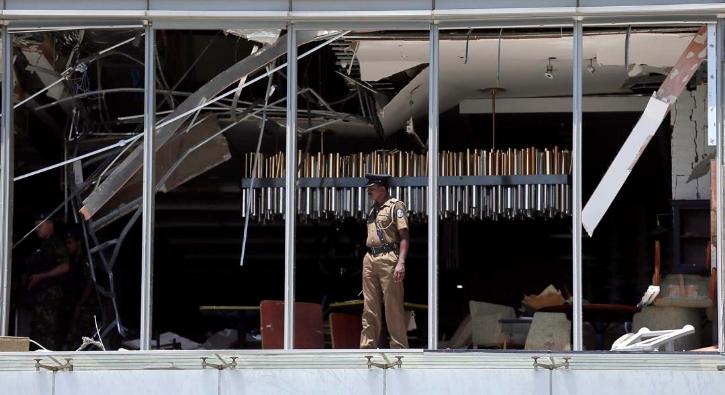 Sri Lanka'daki patlamalar sonrası ilk görüntüler