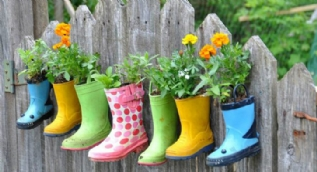 Bahçe süsleme için ilham veren fikirler