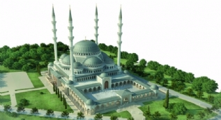 Bursa'ya büyük cami
