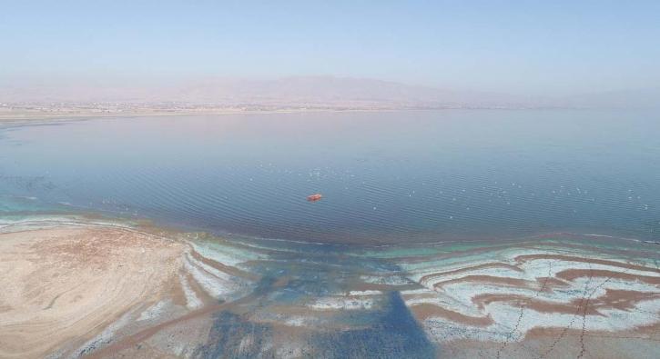 Sular çekildi, 6 ay önceki görüntüden eser kalmadı