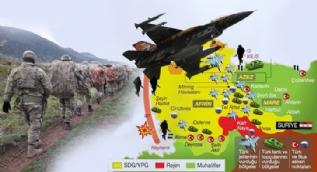 Afrin'e kaç asker geçti? Kaç köy kurtarıldı?