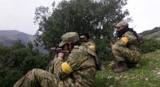 Komandolar Afrin'de! İşte o sarı bandın sırrı