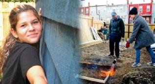 Daha 13 yaşında ama kendi evini yaptı