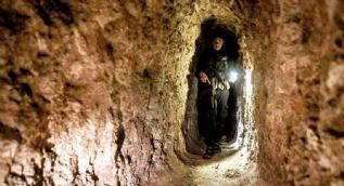 Teröristlerin kazdığı tünel görüntülendi!