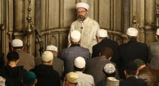 Afrikalı dini liderler Eyüpsultan Camisi'nde namaz kıldı