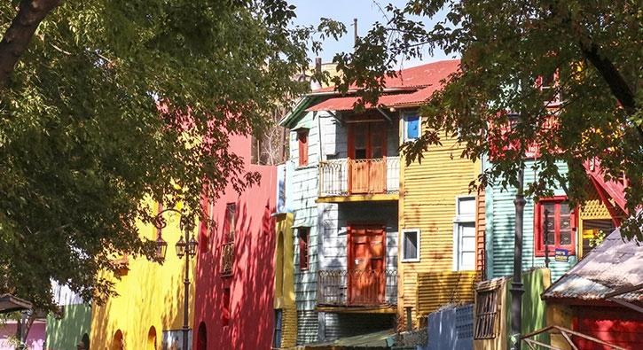 Süslü duvarları, renkli evleriyle: La Boca Mahallesi