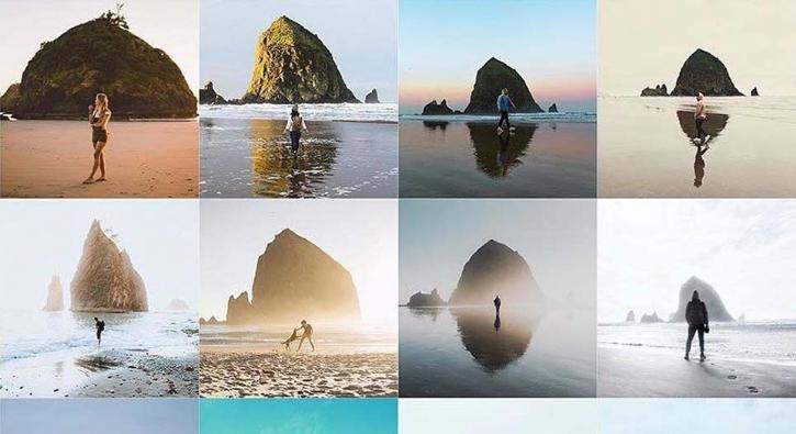 Instagram'da tekrara düşenler... Kopya fotoğraflar