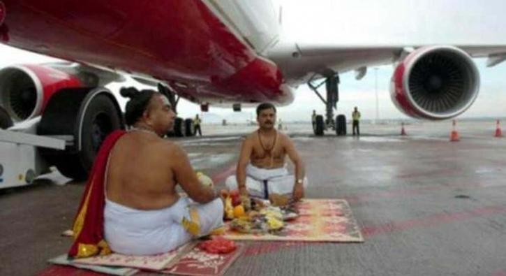 Hindistan'da günlük hayat...