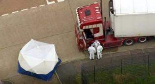 Bir kamyonda 39 ceset bulundu! İngiltere'de şoke eden olay